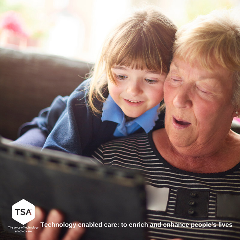 Technology enabled care to enrich and enhance people's lives
