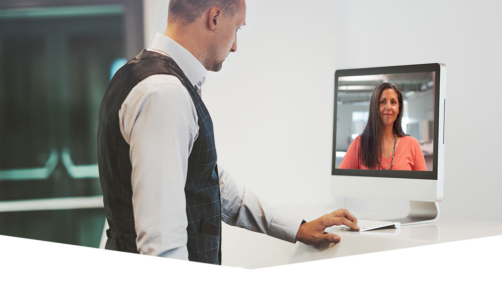 "Virtual ""reception"" with a remote video attendant"
